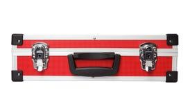 Красный портфель Стоковая Фотография RF