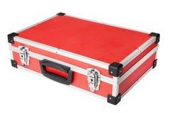 Красный портфель Стоковое фото RF
