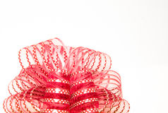 Красный подарок смычка Стоковое Изображение
