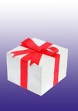 Красный подарок смычка Стоковые Фото