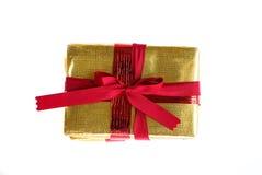 Красный подарок смычка Стоковое Изображение RF