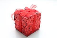 Красный подарок Стоковые Фото