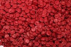 Красный полимер стоковые изображения rf