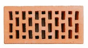 Красный полый кирпич стены Стоковая Фотография RF