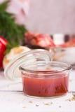 Красный пряный соус BBQ Стоковое Изображение RF