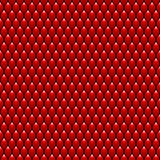 Красный дракон вычисляет по маcштабу безшовную текстуру картины шток Стоковая Фотография RF