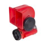 Красный рожок для автомобиля Стоковое Изображение RF