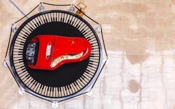 Красный рояль Стоковые Изображения