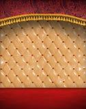красный сбор винограда комнаты Стоковое Изображение RF