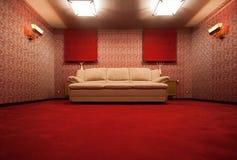 красный сбор винограда комнаты Стоковые Изображения