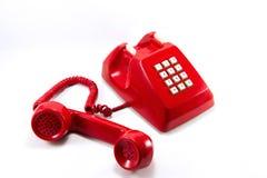 красный сбор винограда телефона Стоковое фото RF