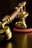 красный сбор винограда телефона Стоковое Изображение RF