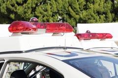 Красный свет полиции стоковые фото