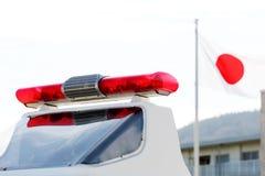 Красный свет полиции Стоковая Фотография RF