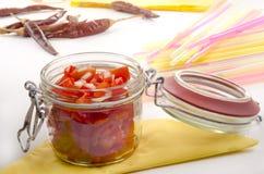 Красный смак перца и томата колокола Стоковая Фотография RF