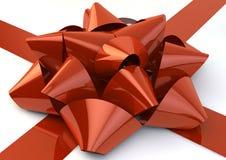 Красный смычок Стоковое Изображение RF