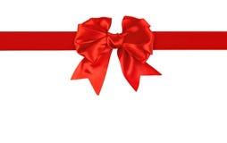 Красный смычок   стоковая фотография rf