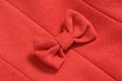 Красный смычок Стоковое Фото
