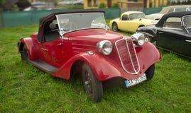 Красный спорт Tatra 57 - 1935 Стоковая Фотография
