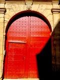 Красный строб стоковое изображение
