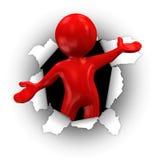 красный сярприз Стоковая Фотография