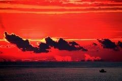 Красный танец Стоковое Изображение
