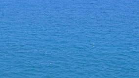 Красный томбуй жизни в середине океана сток-видео