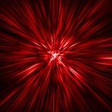 красный тоннель времени Стоковые Фотографии RF