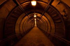Красный тоннель Стоковое Изображение RF