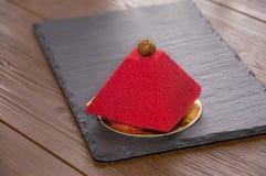 Красный торт велюра Стоковые Фотографии RF
