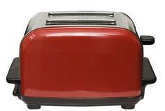 красный тостер Стоковое Фото