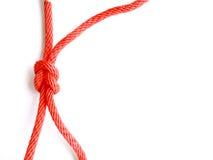 Красный узел Стоковое Изображение RF