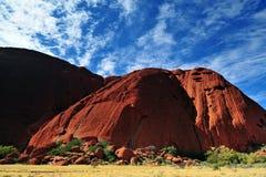 Красный утес Австралии Стоковые Фото