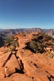 Красный утес в гранд-каньоне стоковые фотографии rf