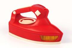 Красный утюг игрушки Стоковые Изображения RF