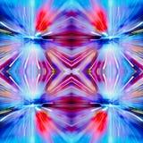 Красный фиолетовый и голубой цвет декоративный Стоковые Фото
