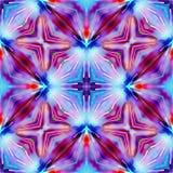Красный фиолетовый и голубой цвет декоративный Стоковое фото RF