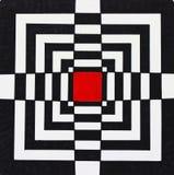 Красный фокус в конспекте Стоковые Фото
