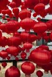 Красный фонарик Стоковые Фото
