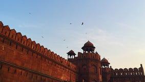 Красный форт, Джайпур стоковые фото