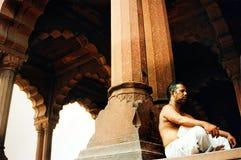 Красный форт - Нью-Дели - Индия Стоковое фото RF