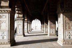 Красный форт New Delhi Стоковые Изображения
