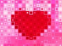 Красный Харт стоковое фото