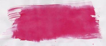 Красный ход краски Стоковое Изображение RF