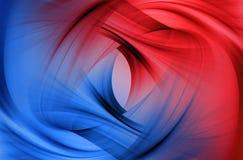 красный цвет абстрактной предпосылки голубой Стоковое Фото