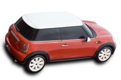 красный цвет автомобиля компактный Стоковые Фото