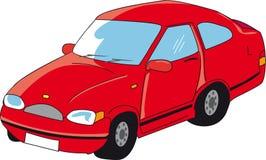 красный цвет автомобиля смешной бесплатная иллюстрация