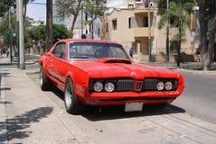красный цвет автомобиля Стоковая Фотография RF