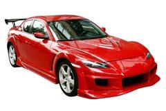 красный цвет автомобиля Стоковые Фото