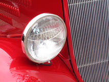 красный цвет автомобиля i хочет Стоковые Изображения